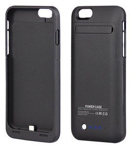 "iPhone 6 Plus (5.5"") External Battery Case - up to 6 Hours Talk Time"