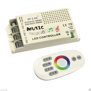Remote Control And Music Color-Change Controller For LED Lights